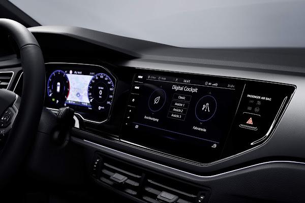 Novo Polo 2022 recebe Digital Cockpit e Infotainment de série - Europa