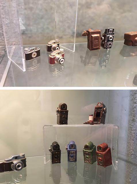 Câmeras fotográficas em tamanhos minúsculos