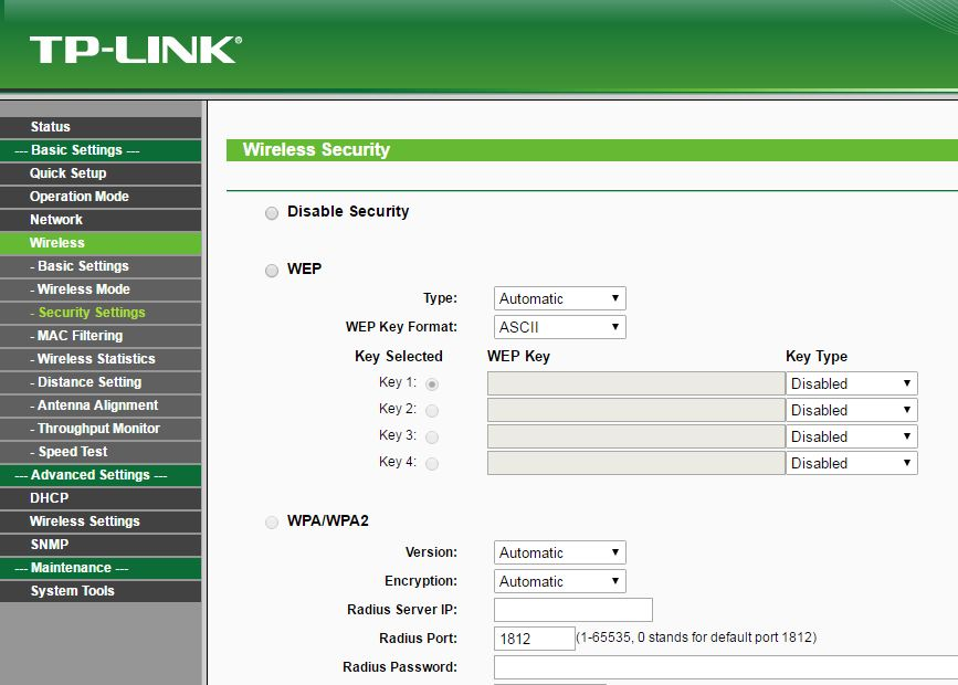 Outdoor APs PTP Bridge with NanoStation and TP-LINK