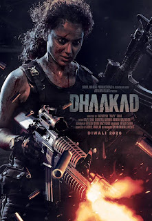 Dhaakad new poster out, Dhaakad movie images, Dhaakad movie trailer out now