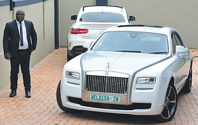 Eyadini boss sells his  his luxurious Rolls-Royce Phantom and Mercedes-Benz AMG GLE 63, worth at least R8 million, to pay his hefty debt.