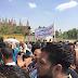 بالصور : اهالي الوراق يتظاهرون اما قوات الجيش ولجنة حصر الـ100 متر