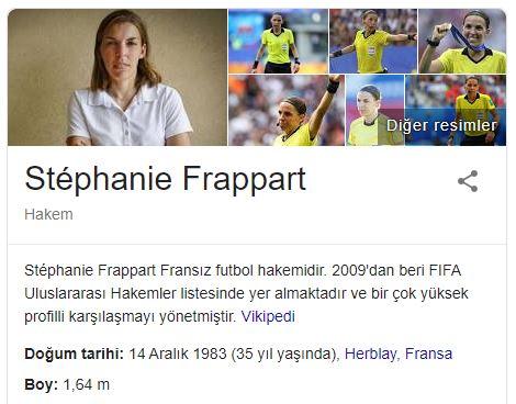 UEFA Süper Kupa Maçını Yöneten İlk Kadın Hakem: Stephanie Frappart