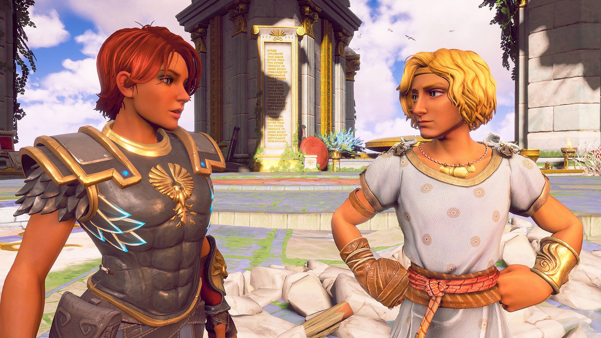 Immortals: Fenyx Rising: WALKTHROUGH OF THE MYTHICAL CHALLENGES OF BRISANTS