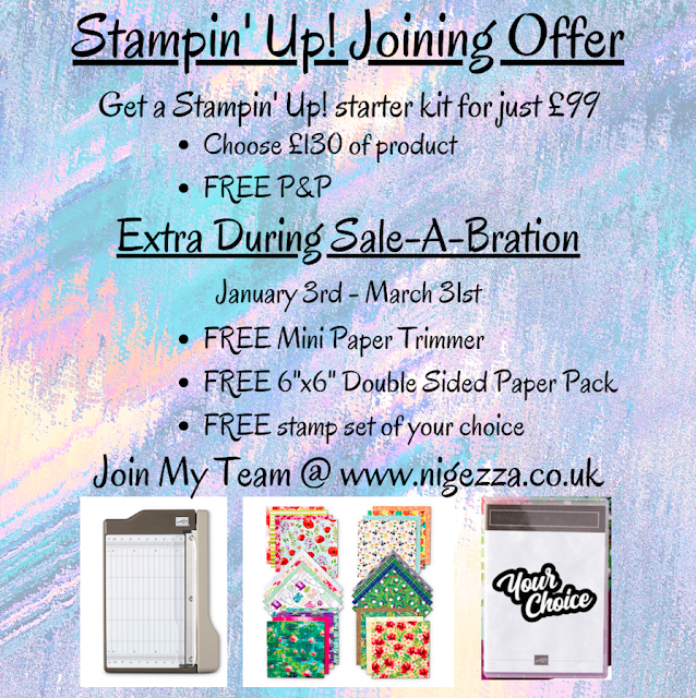Nigezza Creates wiht Stampin' Up! Joining Offer