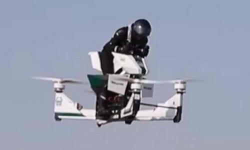 Motor Polisi Terbang Di Dubai