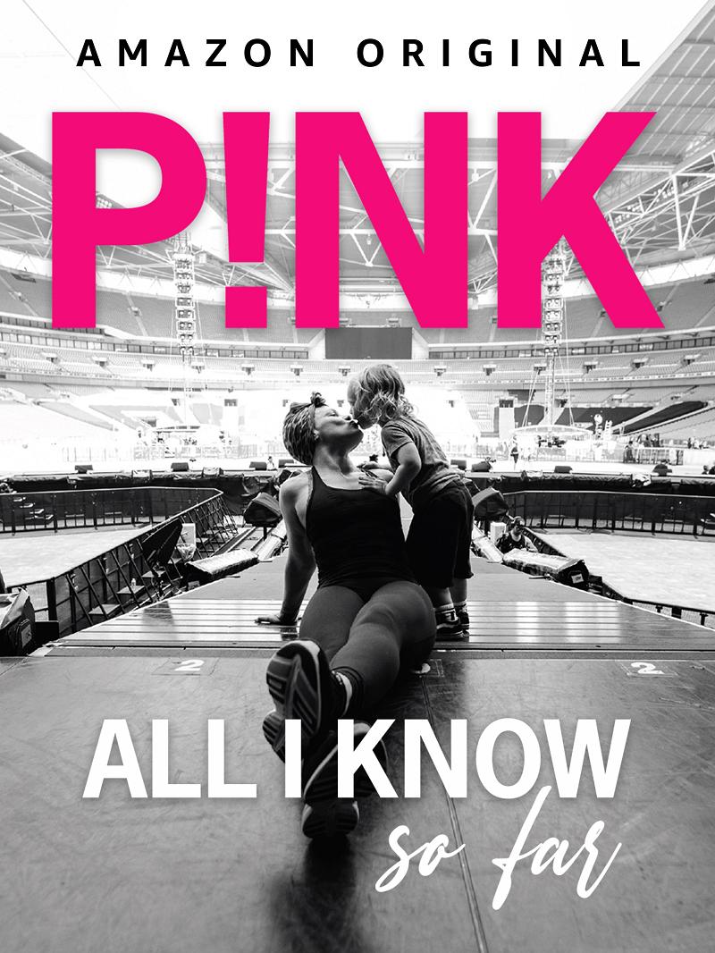 P!NK ALL I KNOW SO FAR estreia em Maio no Amazon Prime Video