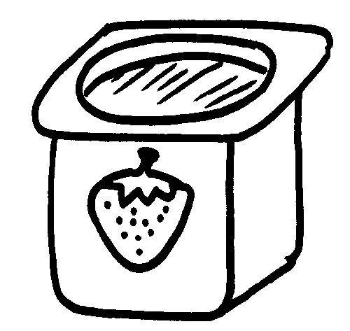 предложения йогурт рисунки карандашом знаю