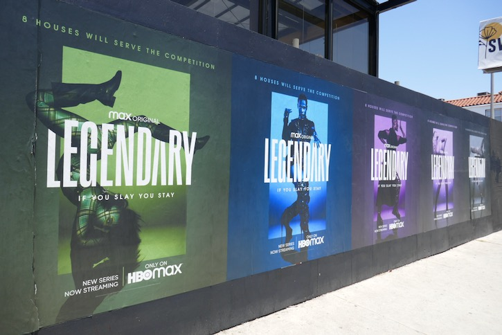 Legendary HBO Max launch wildposting