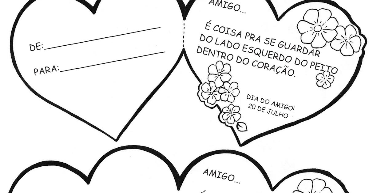 Cartoes Dia Do Amigo A Arte De Ensinar E Aprender