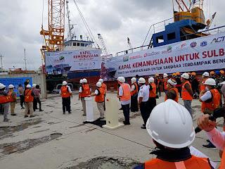 ACT Kirim Bantuan Bencana ke Sulbar Pakai Kapal dari Pelabuhan Sunda Kelapa