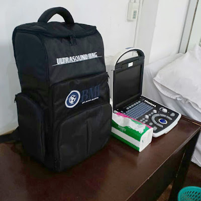 Jual USG 2D Mindray DP-10 Free Hard Case