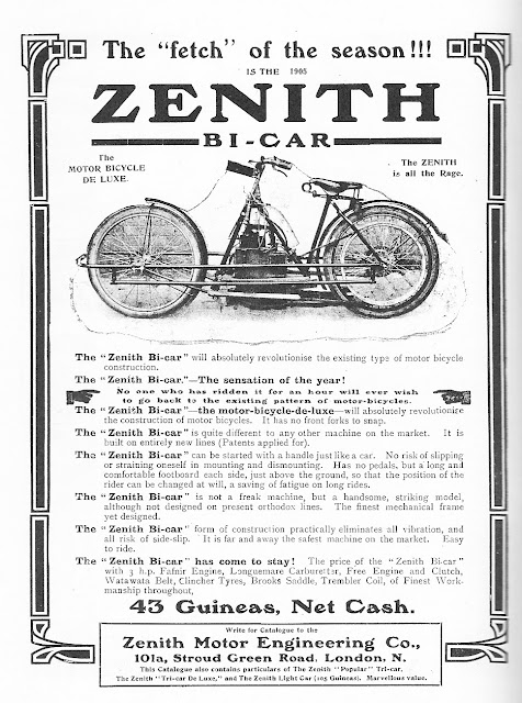 Zenith Gradua V-Twin Exhaust Sound