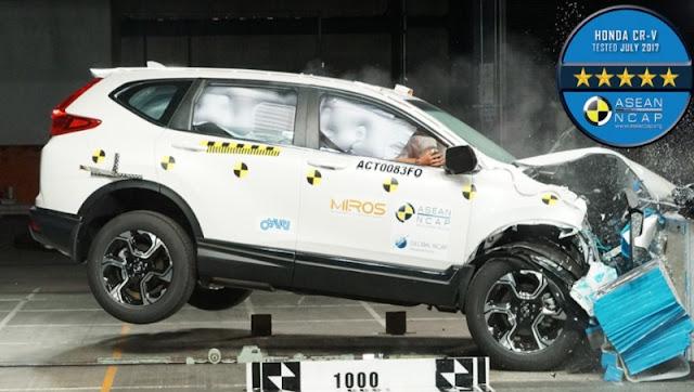 Honda CRV 2017 ASEAN NCAP