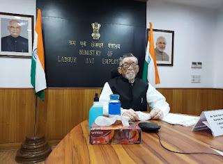केंद्रीय श्रम और रोजगार राज्य मंत्री ने कोविड-19 महामारी के प्रभाव का मुकाबला करने के लिए भारत की प्रतिबद्धता को दोहराया, आईएलसी के 109वें सत्र को संबोधित किया