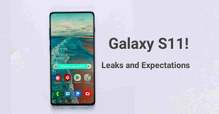 Samsung Galaxy S11 - specifications and leaks