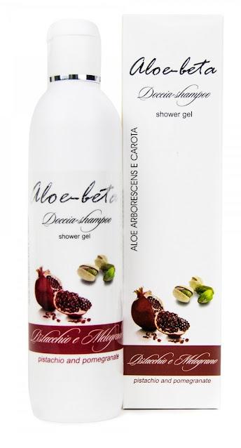Shampoo-doccia pistacchio e melograno