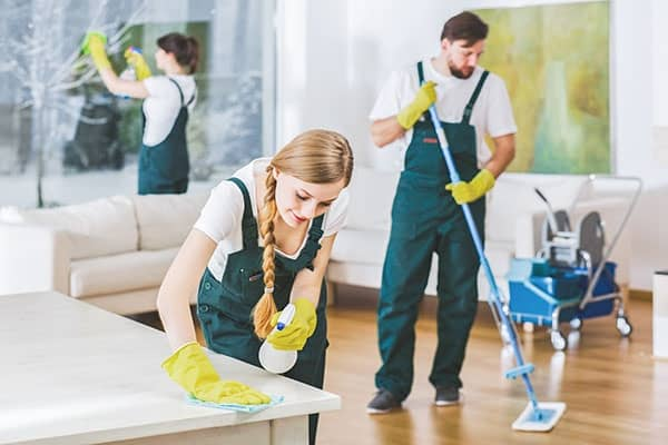 Housekeeping services in HCMC