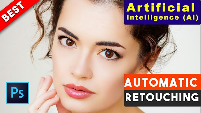 Artificial Intelligence (AI) Automatic Skin Retouching Best Free Photoshop Actions