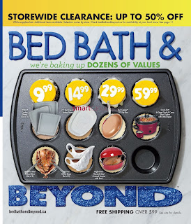 Bed Bath & Beyond Weekly Flyer February, 2018