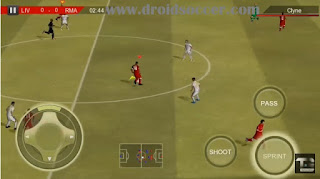 Download Real Football 2018 v1.5.4 Mod 2012 Apk + Data Obb