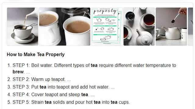 Write Content for Featured Snippets