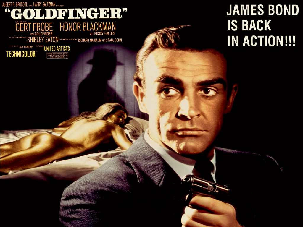 James Bond Goldfinger