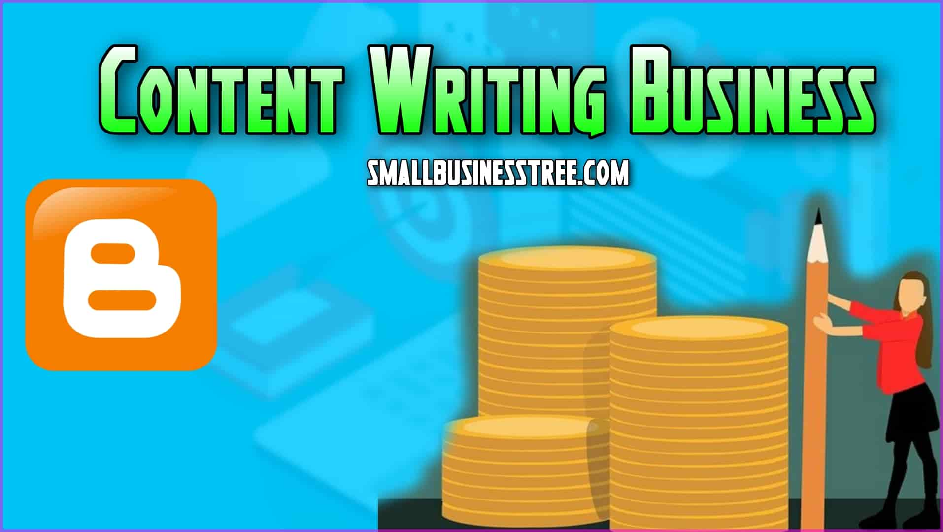Content Writing on Smartphone