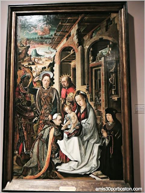 Legion of Honor: La Adoración de los Reyes Magos de Rodrigo de Osona