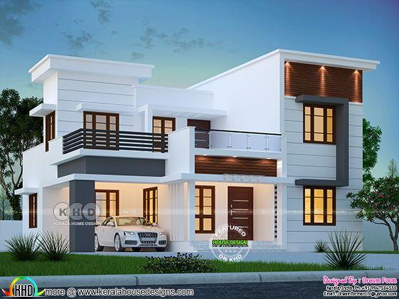 4 bedroom 2102 sq-ft  modern home design