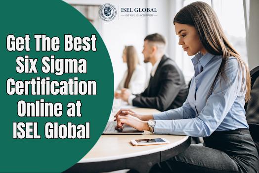 Get Lean Six Sigma Certifications Online
