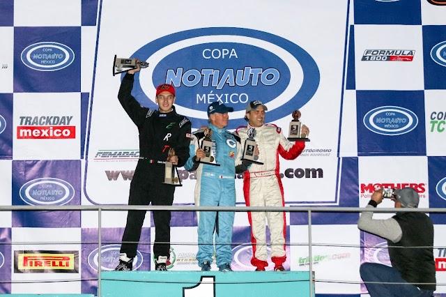 Cravioto con Seguros Chubb arrancan en año con doble podio.