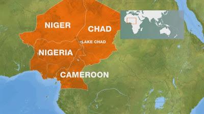 Lake Chad on Nigeria