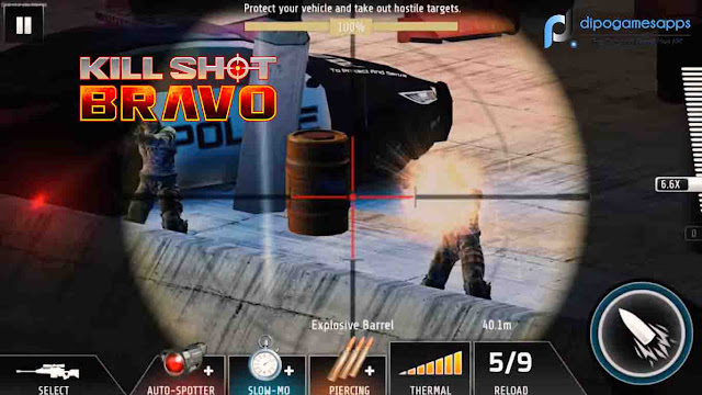 Kill Shot Bravo Hack Modded Unlimited Money and No-Sway