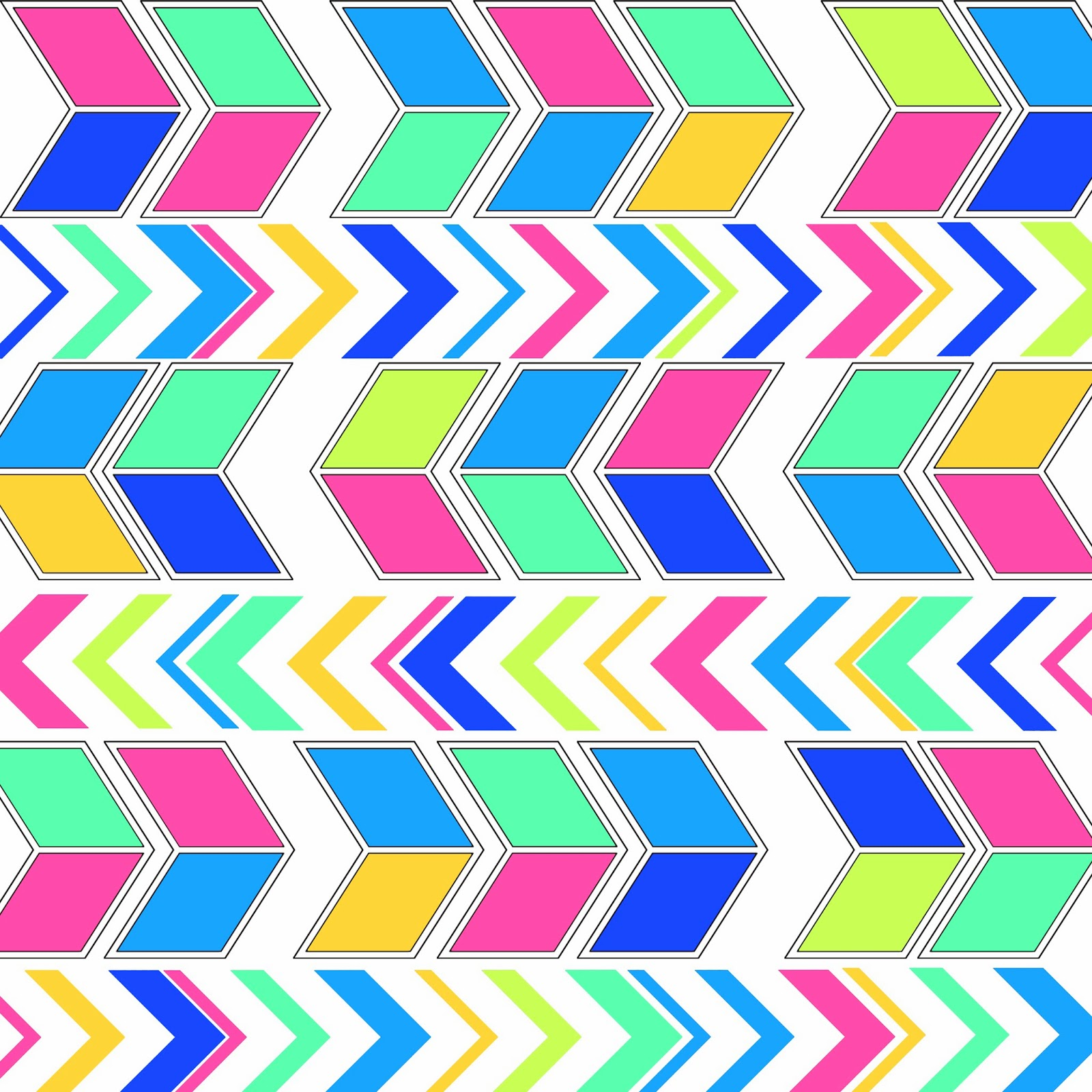 Colorful Arrow Chevron Freebies Backgrounds