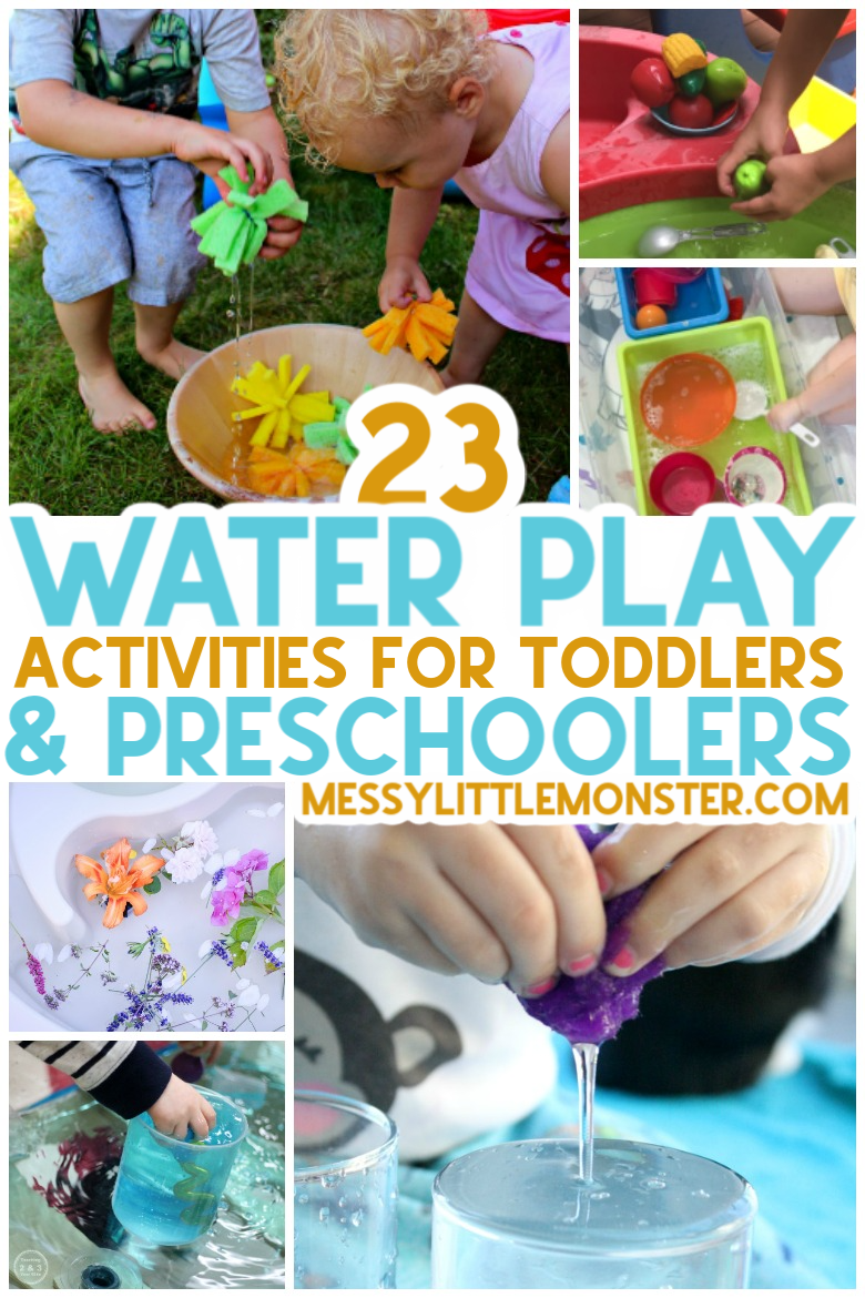 water play activities for toddlers and preschoolers