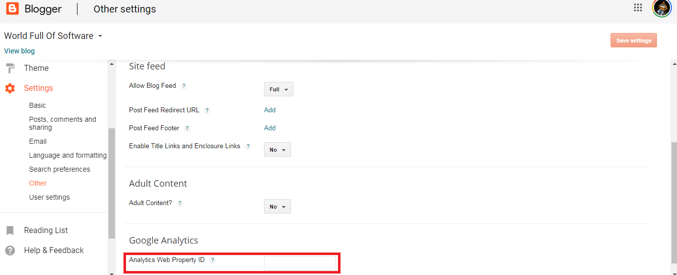 How to Setup Google Analytics for Blogger/Website?