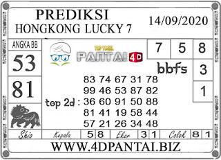 PREDIKSI TOGEL HONGKONG LUCKY 7 PANTAI4D 14 SEPTEMBER 2020