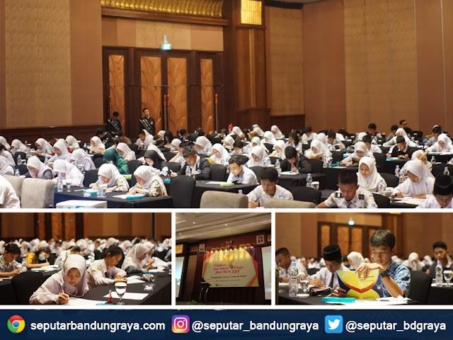Pemilihan Duta Bahasa Pelajar Jawa Barat 2019 Masuk Tahap 40 Finalis