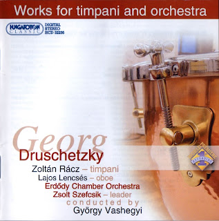 DRUSCHETZKY: Works for Timpani and Orchestra