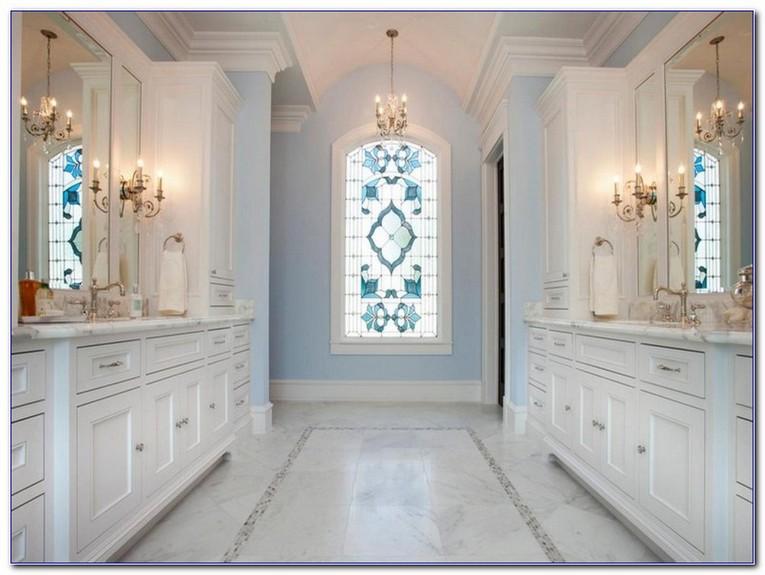 Stained Gl Bathroom Window Designs