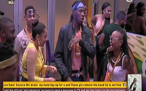 Image result for BB Naija 2018 first Saturday night PARTY for housemates