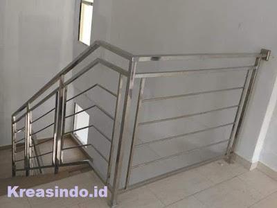 Harga railing balkon stainless minimalis