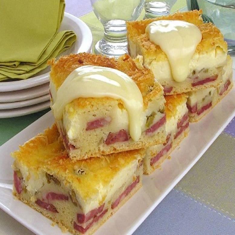 Torta fofinha de calabresa