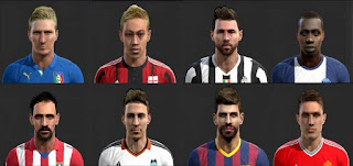 Facepack v3 Pes 2013 by SG8