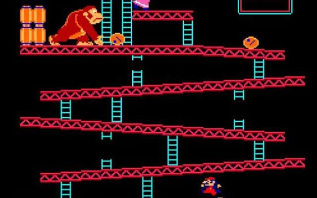 Donkey Kong - Super Mario
