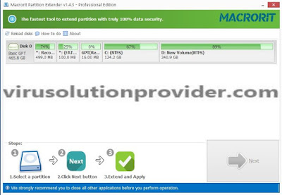 Macrorit Partition Extender with Promo License Serial Key