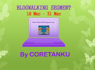 Blogwalking by Coretanku