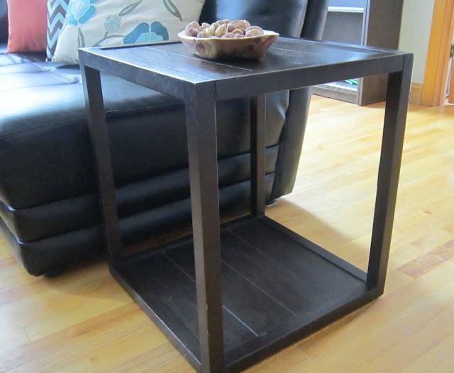 Tiled End Table Makeover Guest Post By Design Megillah