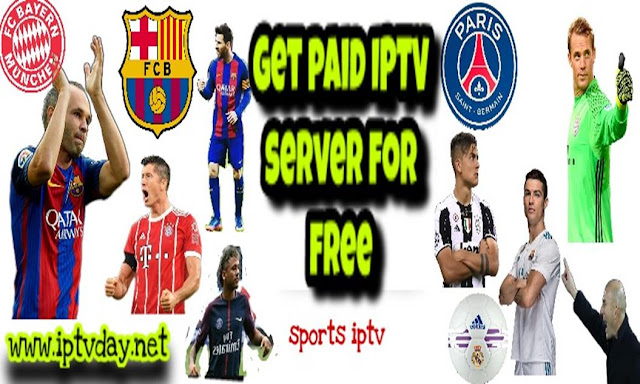 GET PIAD IPTV SERVER FOR free★Works for a long time★27/11/2017/2018★Daily Update 24/7★